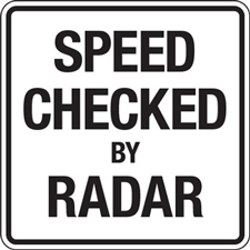 Speed Checked by Radar Request Link